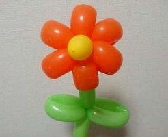 花のバルーンアート
